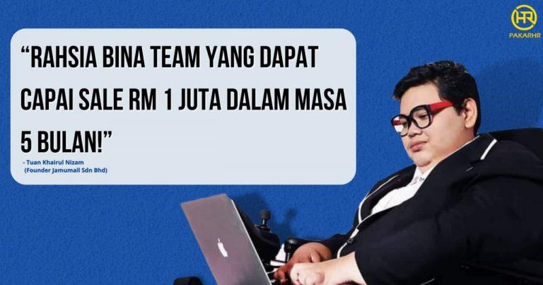 Rahsia Capai Sale RM1juta Dalam Masa 5 Bulan!
